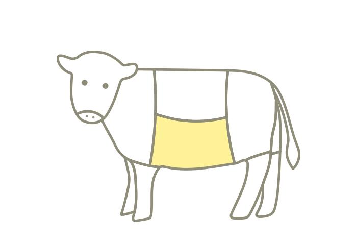 牧草牛のバラ
