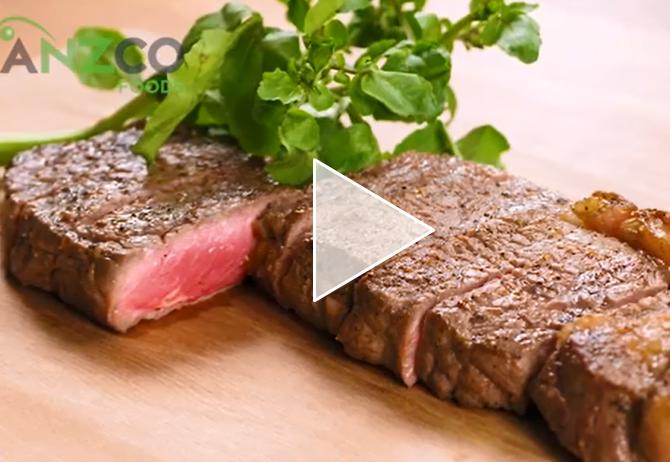 【動画】NZ産穀物肥育牛(オーシャンビーフ)ステーキの美味しい焼き方