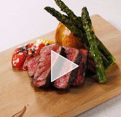 【動画】NZ産ビーフモモ厚切りステーキ美味しい焼き方