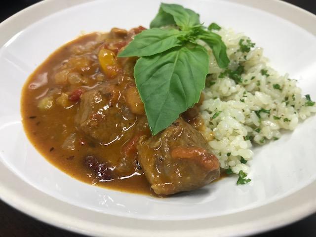 【レシピ動画】ラムもも肉のイタリアンカレー