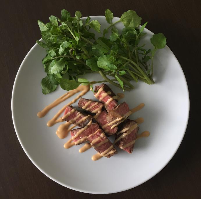 【ステーキソースレシピ】混ぜるだけ!オリエンタルソース