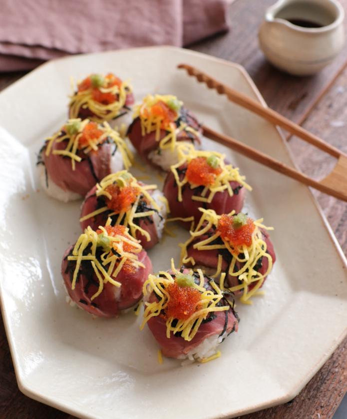 【レシピ動画】ラムの手まり寿司
