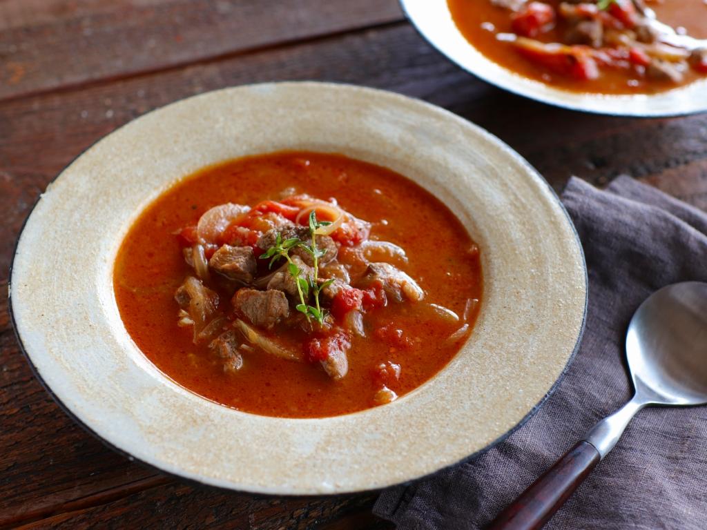 【レシピ動画】やわらかラムもも肉のナヴァラン(トマト煮込み)